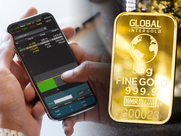buy gold sell stocks